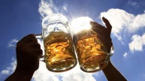 cerveza brindis